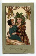 Parkinson Femme Art Nouveau - Parkinson, Ethel