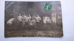 Photo Carte Postale ( T9) Ancienne De La Saint Cochon ( Lieu Inconnu) - Photographie