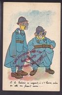 P240 - Si La Noémie M'voyait - Masque à Gaz - Ww1 - Guerre 14 18  - Humour Militaria - Humor