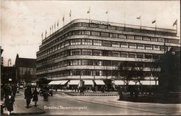 ! Alte Fotokarte Breslau Tauentzienplatz, Kaufhaus Wertheim, Wroclaw, Photo, Polen, Schlesien, Warenhaus, Poland Pologne - Schlesien