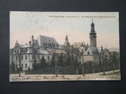 REICHENBERG  RUCKANSICHT V. NORDBOHMISCHEN  GEWERBE - MUSEUM  -1905 ? - Czech Republic