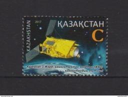 KAZAKHSTAN , 2017, MNH, SPACE, SATELLITES,  1v - Space