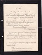Château De SERVILLE CHAILLOT Comte DAVILLIER REGNAULT De ST JEAN D'ANGELY Ancien 1er écuyer Napoléon III 1908 - Décès