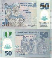 Nigeria - 50 Naira 2011 UNC Polymer Lemberg-Zp - Nigeria