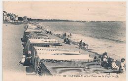 Cpa 44 La Baule Tentes Sur La Plage - La Baule-Escoublac