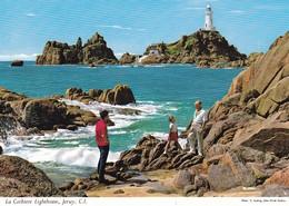 Postcard La Corbiere Lighthouse Jersey [ John Hinde ] My Ref B22250 - Jersey