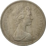 Grande-Bretagne, Elizabeth II, 10 New Pence, 1971, TTB, Copper-nickel, KM:912 - 1971-… : Monnaies Décimales