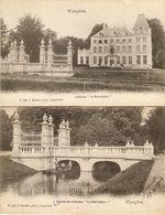 """Wyneghem / Wijnegem : Château """" Le Belvédère """" ---- 2 Cp ---- 2 Kaarten - Wijnegem"""