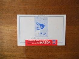"PILE MAZDA BUVARD N° 10 PAS DE BON ""PIPI CHIEN"" SANS ""MAZDA!"" !... DUBOUT - Accumulators"