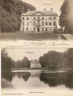 Wuestwezel / Wuustwezel : Château ---- 2 Kaarten - Wuustwezel