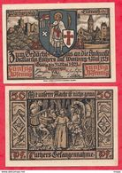Allemagne 1 Notgeld 50 Pfenning Stadt Gultig UNC Lot N °4 - 1918-1933: Weimarer Republik