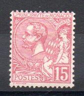 MONACO - YT N° 15 - Neuf ** - MNH - Cote: 330,00 € - Neufs