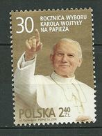 POLAND MNH ** 4136 ANNIVERSAIRE ELECTION PAPE JEAN PAUL II - 1944-.... Republik