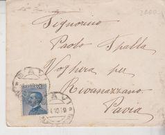 Regno Voghera Numerico Rivanazzano Pavia 1919 - Storia Postale