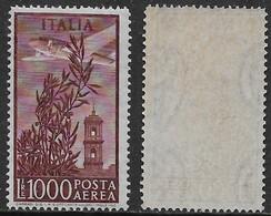 Italia Italy 1948 Campidoglio Aerea Ruota L1000 Sa N.A145 Nuovo Integro MNH ** - 6. 1946-.. Repubblica