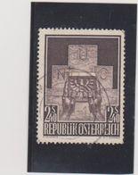 AUTRICHE  1956  Y.T. N° 858  Oblitéré - 1945-60 Used