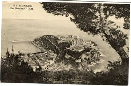 CPA - Carte Postale - France - Monaco - Le Rocher (CP437) - Fontvieille