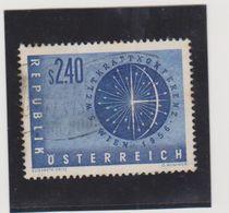 AUTRICHE  1956  Y.T. N° 859  Oblitéré - 1945-60 Used