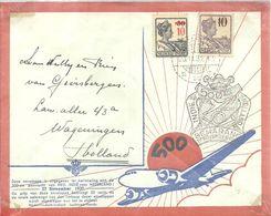 LETTER  1937 - Niederländisch-Indien
