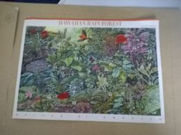 Planche De Timbres; Nature Of America ; Hawaiian Rain Forest - Hawaii