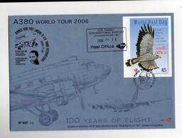 A World Tour 2006 A 380 Johannesburg Bloc Aigle - Poste Aérienne