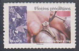 Année 2015 - N° 1081A - L'art Et La Matière, Les Métiers De L'artisanat En France : Pierres Précieuses - Lettre 20 G. - France