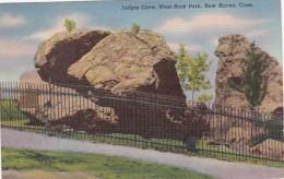 Connecticut New Haven Judges Cve West Rock Park 1940 Curteich - New Haven