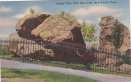 Connecticut New Haven Judges Cve West Rock Park 1947 Curteich - New Haven