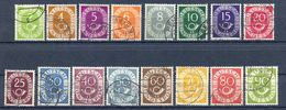 Bund MiNr 123 Bis 138 Gestempelt (17029) - [7] Federal Republic