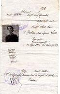 SAUF-CONDUIT N°222   1939  GENDARMERIE NATIONALE  BASSES-ALPES - Documents