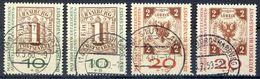 Bund MiNr 310 Bis 311 A Und B Gestempelt (17047) - BRD
