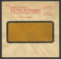 S.A. LE FIL DYNAMO à VILLEURBANNE / EMA 1952 - EMA (Printer Machine)