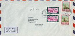 1973 AFGANISTAN , SOBRE CIRCULADO ENTRE KABOUL Y FRANKFURT - Afghanistan