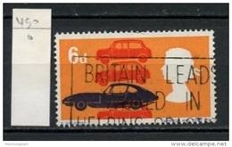 Grande Bretagne - Great Britain - Großbritannien 1966 Y&T N°450 - Michel N°467 O - 6p Automobiles - 1952-.... (Elizabeth II)