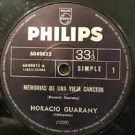 Dos Sencillos Argentinos De Horacio Guarany - World Music