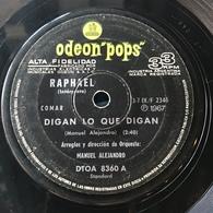 Dos Sencillos Argentinos De Raphael - Vinyl Records
