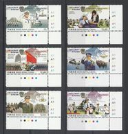 Hong Kong 2004 Yvert 1117/1122 ** Serie Militaires Navy Marine Armee De Terre Army Helicopteres Cdf - 1997-... Région Administrative Chinoise