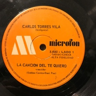 Dos Sencillos Argentinos De Carlos Torres Vila - World Music