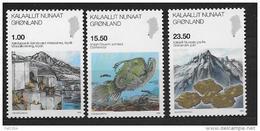 Groënland 2009 523/525 Neufs Sciences - Unused Stamps