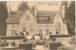 6Rm-602: WAREGHEM  Kasteel Ter Elst  Château Ter Elst - Waregem