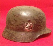 Helmet M-35. - Uniforms