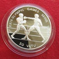 Vanuatu 50 Vatu 1988 Olympic Games Seul Boxing - Vanuatu