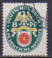 GERMANIA REICH REP.DI WEIMAR 1929 STEMMI REGIONALI UNIF. 422 USATO VF - Usati