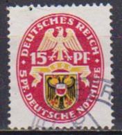 GERMANIA REICH REP.DI WEIMAR 1929 STEMMI REGIONALI UNIF. 423 USATO VF - Usati