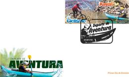 Peru 2018 FDC Adventure Sports Cycling And Kayaking - Canoe