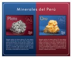 Peru 2018 Minerals Silver And Gold - Minerals
