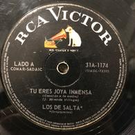 Sencillo Argentino De Los De Salta Año 1967 - World Music