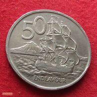New Zealand 50 Cents 1967 KM# 37.1 Nova Zelandia Nuova Zelanda Nouvelle Zelande - Nouvelle-Zélande