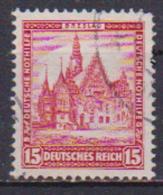 GERMANIA REICH REP.DI WEIMAR 1931 BENEFICENZA 436 USATO VF - Usados