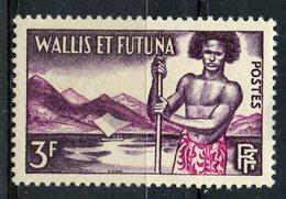 Wallis And Futuna 1957 3f Islandeer Issue #150  MH - Wallis And Futuna